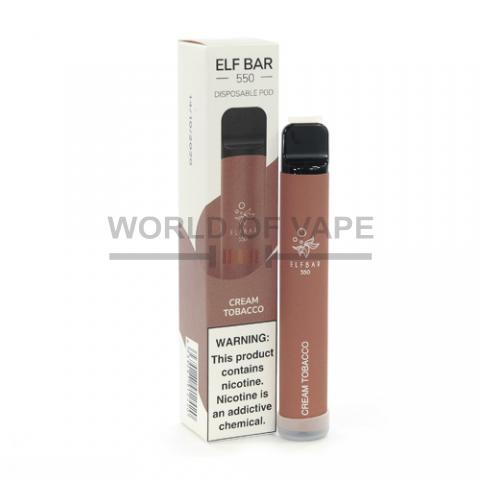 Одноразовая под-система Elf Bar 550 Кремовый табак