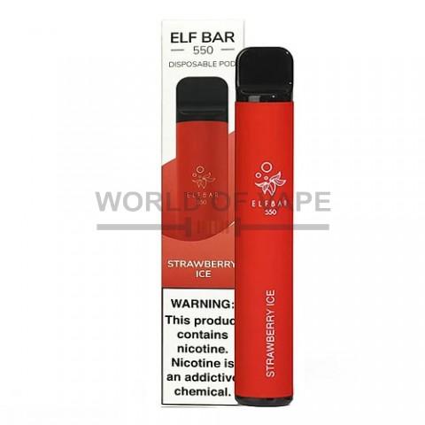Одноразовая под-система Elf Bar 550 Ледяная клубника
