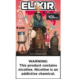 Комплект Elixir - Lychee Raspberry (5.0%)