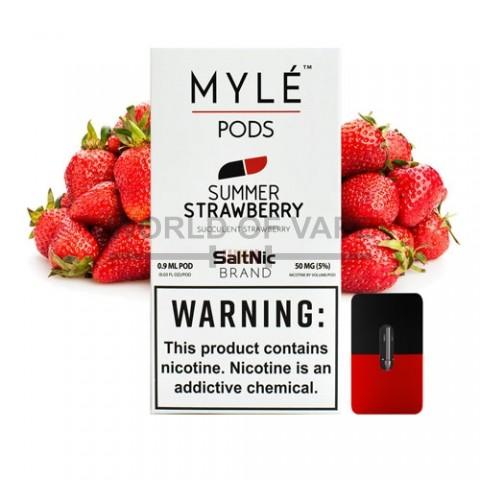 Комплект картриджей Sweet Strawberry для MYLE