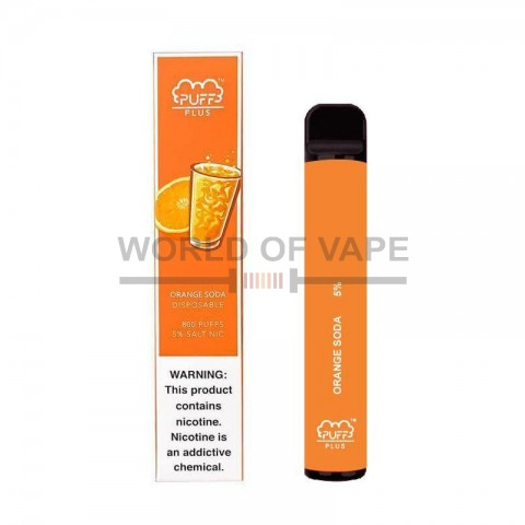 Одноразовая под-система Puff Bar Plus Orange Soda 5%