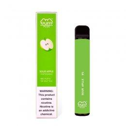 Одноразовая под-система Puff Bar Plus Sour Apple 5%
