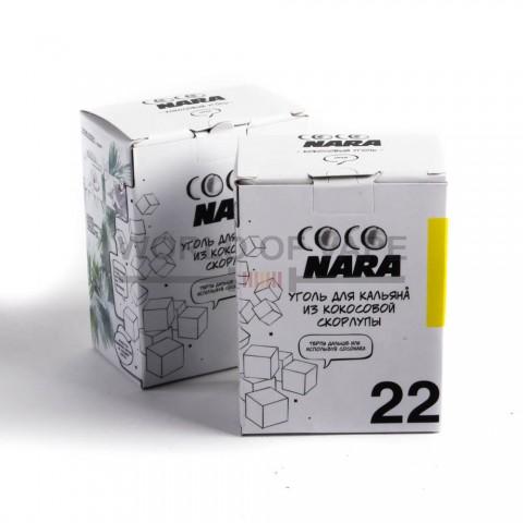 Уголь для кальяна Coco Nara (24 кубика)