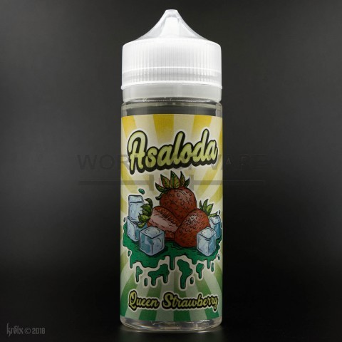 Жидкость Asaloda Queen Strawberry 120мл