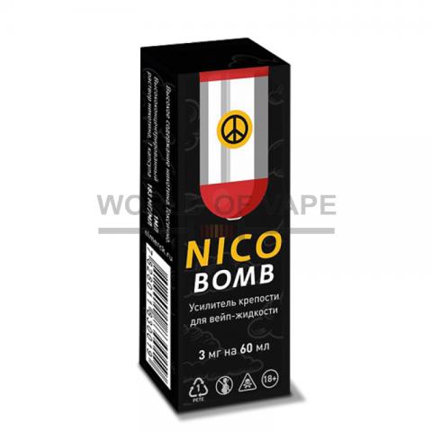 Никобустер NICOBOMB 3мг на 60мл (1мл, 183 мг/мл)