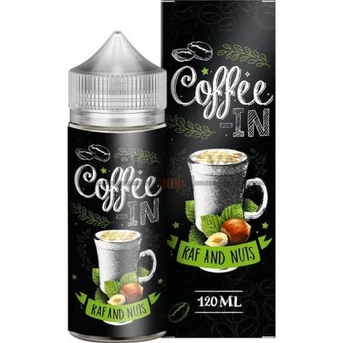 Жидкость COFEE-IN Raf Nuts 120мл