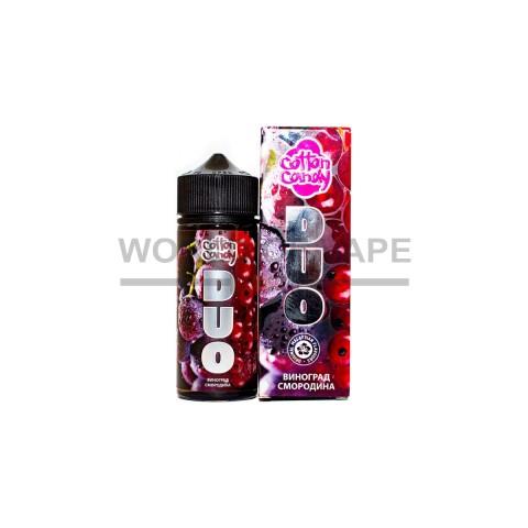 Жидкость Cotton Candy DUO Виноград-Смородина 120 мл