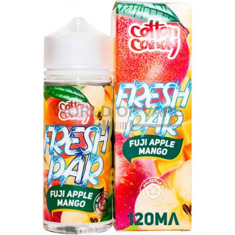 Жидкость Cotton Candy Fresh Par Fuji Apple-Mango 120 мл