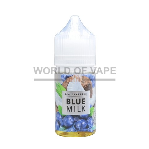 Жидкость Ice Paradise Salt Blue Milk 30 мл