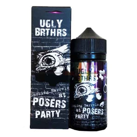 Жидкость Ugly Brthrs Smoking Barrels at Posers Party 100 мл