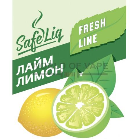 Жидкость SafeLiq 30 мл Лайм-лимон