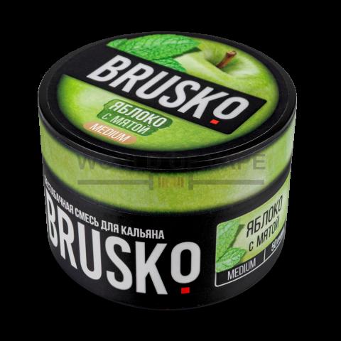 Табак для кальяна Brusko Яблоко с мятой