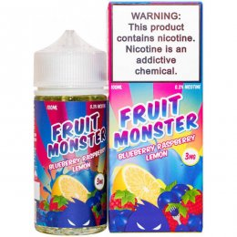 Жидкость Fruit Monster Blueberry Raspberry Lemon 100 мл