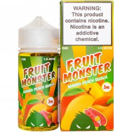 Жидкость Fruit Monster Mango Peach Guava 100 мл