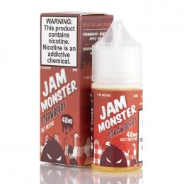 Жидкость Jam Monster Salt 30 мл Strawberry